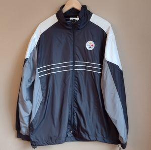 NWT Pittsburgh Steelers Windbreaker Jacket - XL